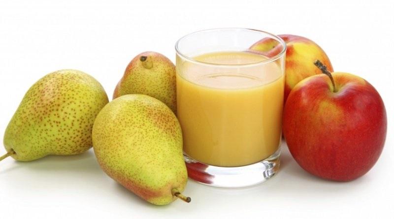 receta batido manzana y pera