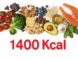 dieta 1400 calorias