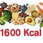 Dieta de las 1600 Calorías ¡Mantén tu peso comiendo!