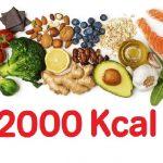 Dieta de las 2000 Calorías ¡No subas de peso!